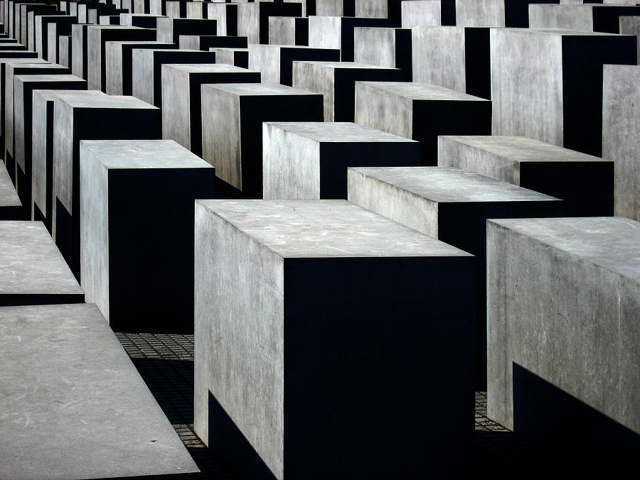 Memorial To The Murdered Jews Of Europe Photograph