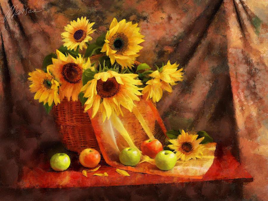 Still Life Painting - Memories Of Summer by Marina Likholat