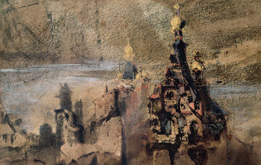Victor Hugo Painting - Memory Of Spain by Victor Hugo