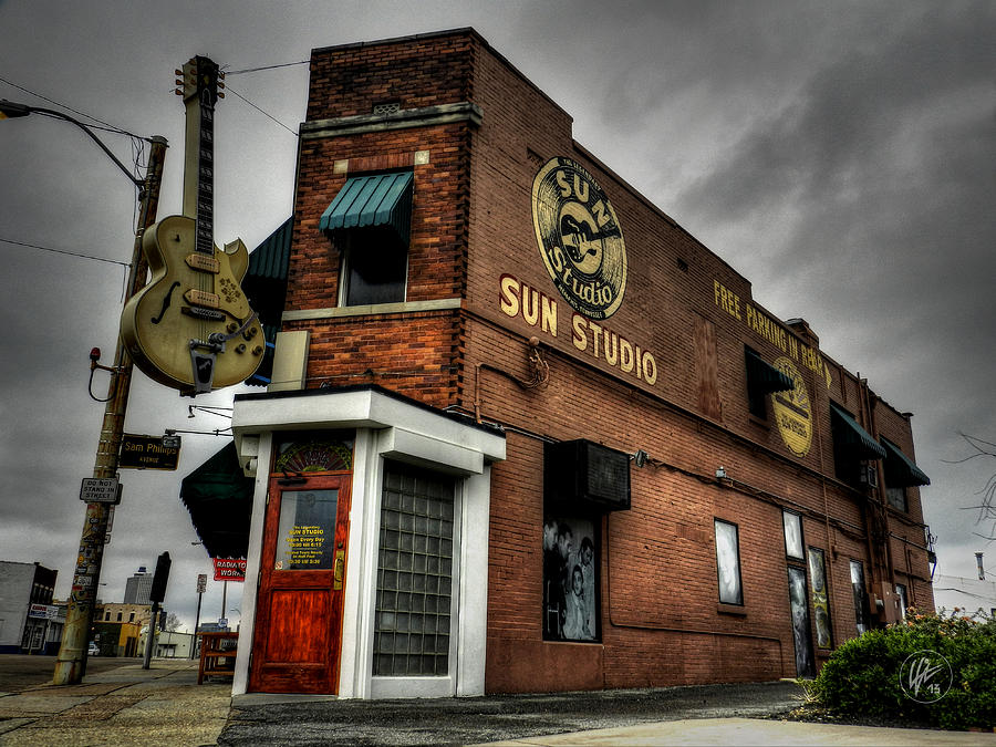 Sun Studio Photograph - Memphis - Sun Studio 001 by Lance Vaughn