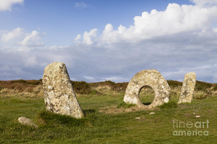 Men-an-tol Cornwall Photograph  - Men-an-tol Cornwall Fine Art Print