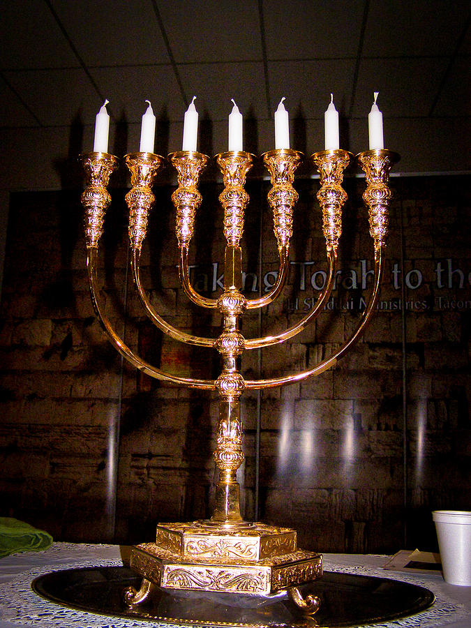 Menorah Photograph
