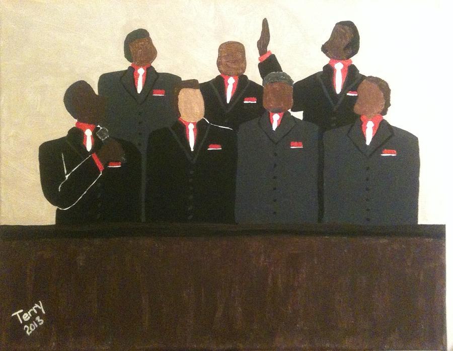 Mens Chorus  Painting