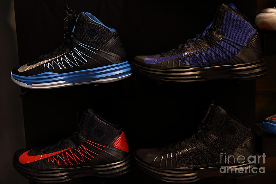 Mens Sports Shoes - 5d20654 Photograph  - Mens Sports Shoes - 5d20654 Fine Art Print