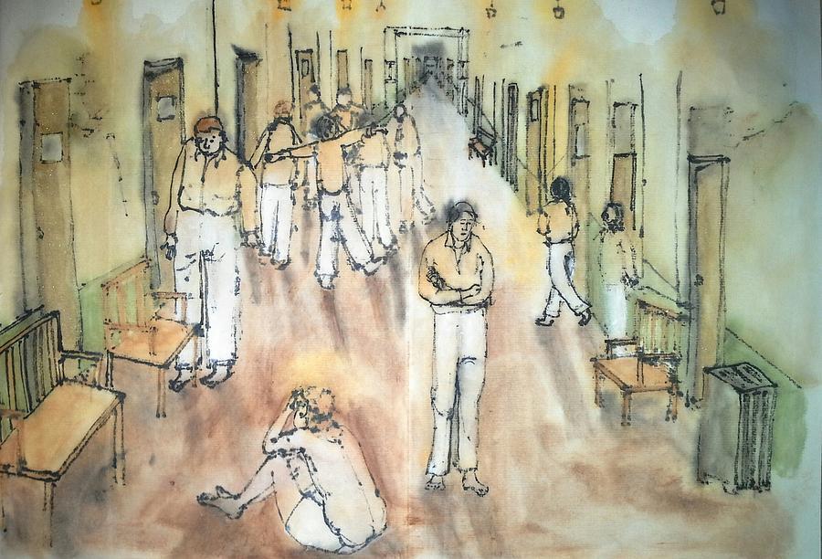 Mental Illness Album Painting