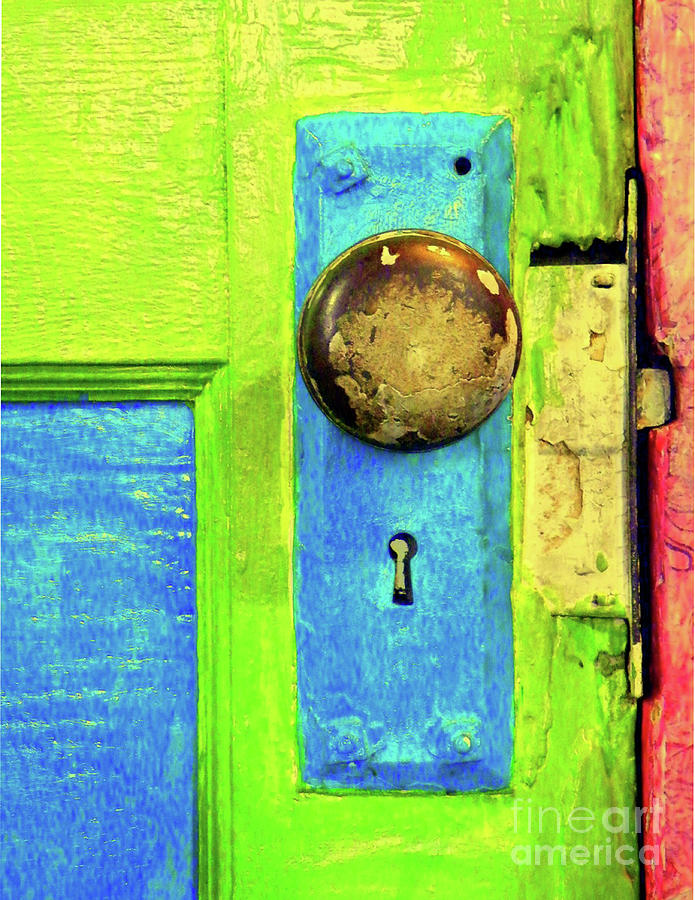 Mercado Door Photograph  - Mercado Door Fine Art Print