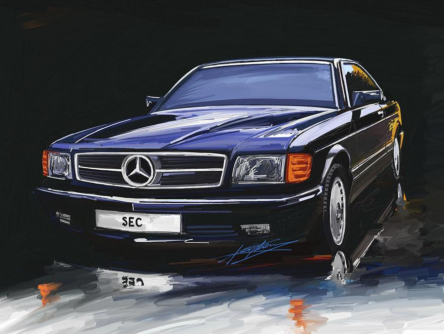 W126 art mercedes benz forum for Mercedes benz w126 for sale