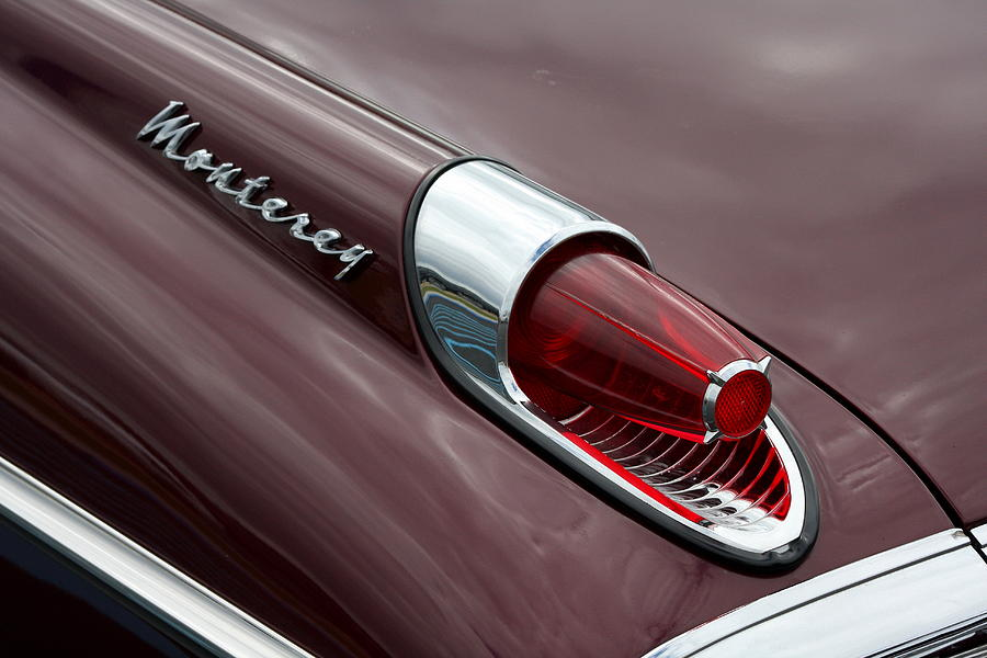 Mercury Monterey Fin Photograph  - Mercury Monterey Fin Fine Art Print
