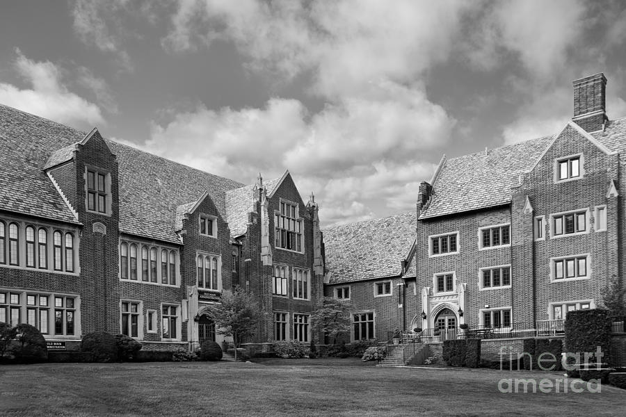 Mercyhurst University Old Main Photograph  - Mercyhurst University Old Main Fine Art Print