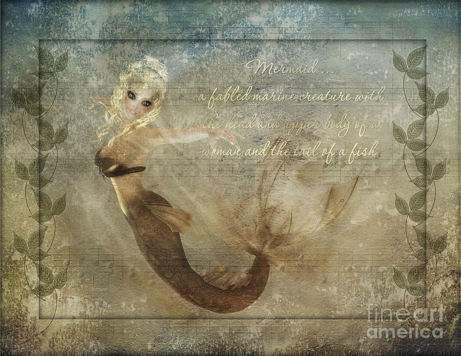 Mermaid-2 Photoart Digital Art