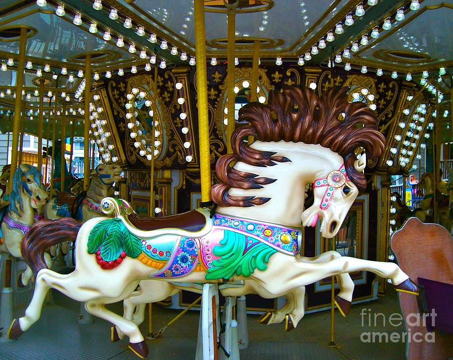 Merry Go Round Horse 3 Photograph