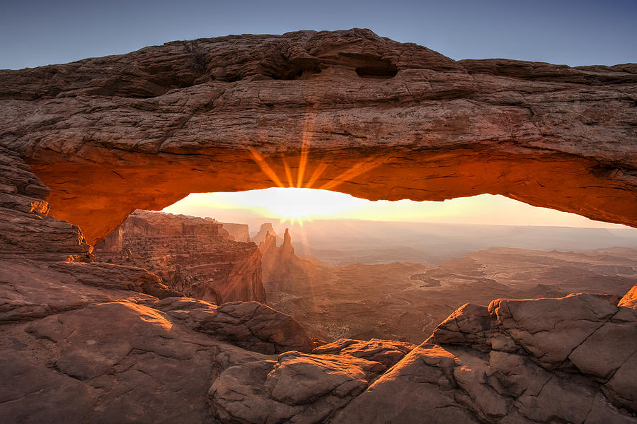 Mesa Arch Morning Photograph