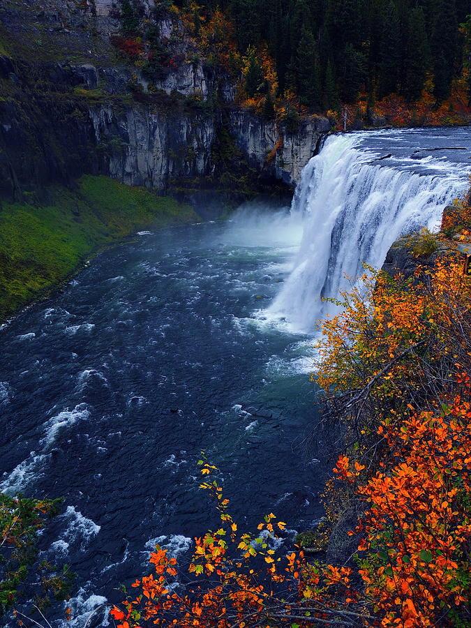 Mesa Falls Photograph