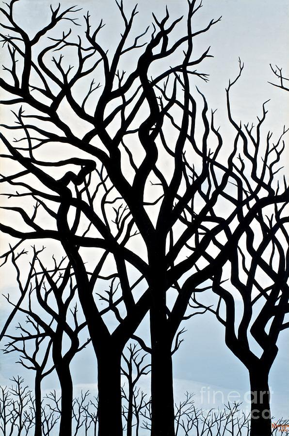 Tree Painting - Mesa Verde by Christine Belt