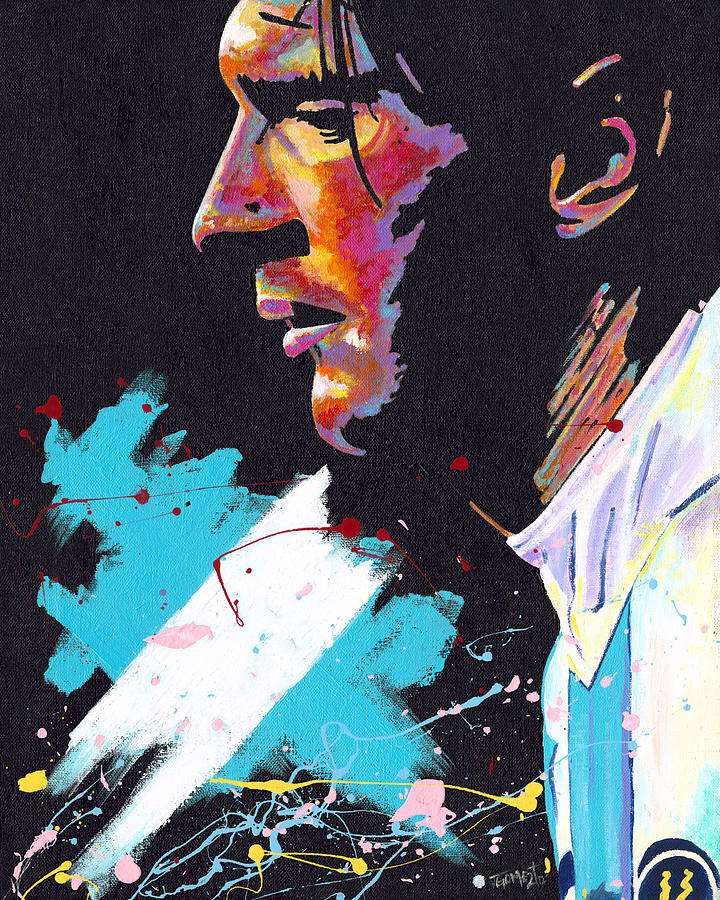 Messi Painting  - Messi Fine Art Print