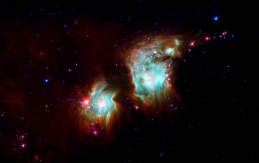 Nasa Images Photograph - Messier 78 Star Formation by The  Vault - Jennifer Rondinelli Reilly