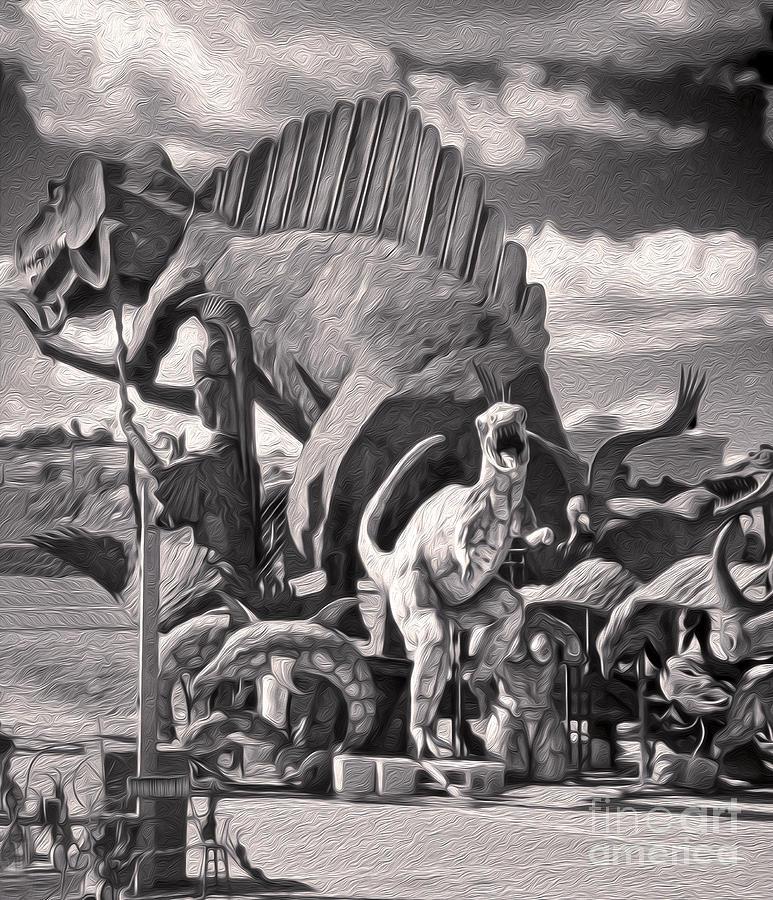 Metal Dinosaurs - 06 Painting