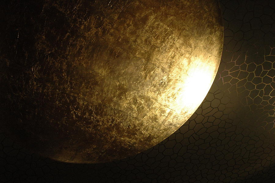 Metallic Moon Photograph