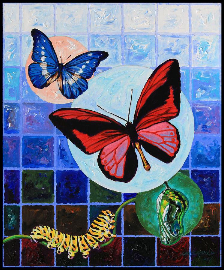 Metamorphosis Of The New Life Painting