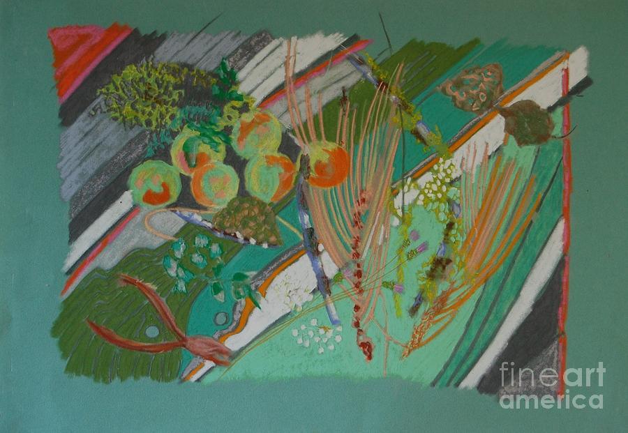 Still Life Painting - Methow Valley Porch by Judith Van Praag