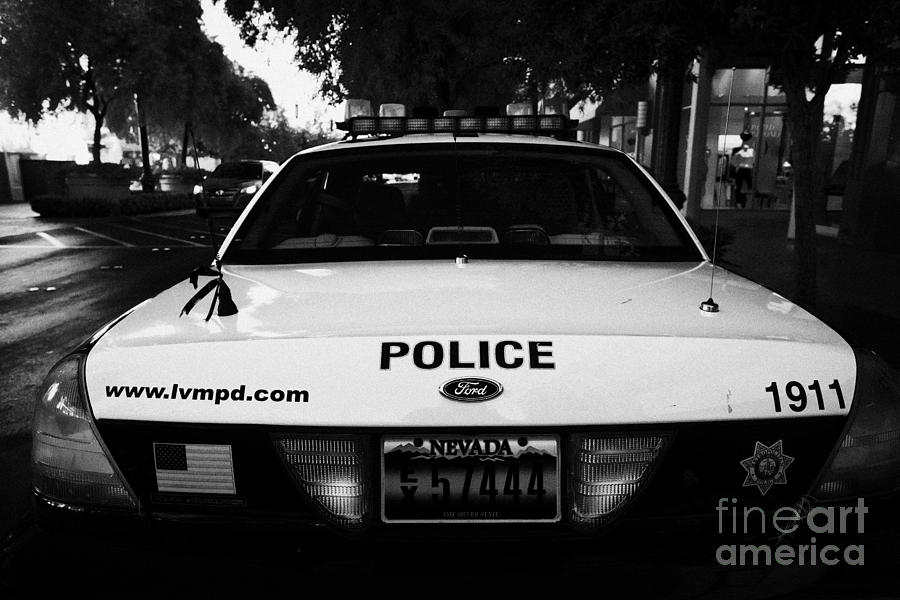 metro metropolitan police squad patrol police car las vegas nevada photograph by joe fox. Black Bedroom Furniture Sets. Home Design Ideas