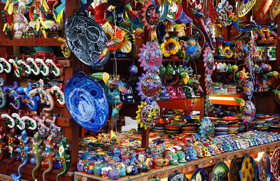 Mexican Arts And Crafts Photograph By Marilyn Hunt