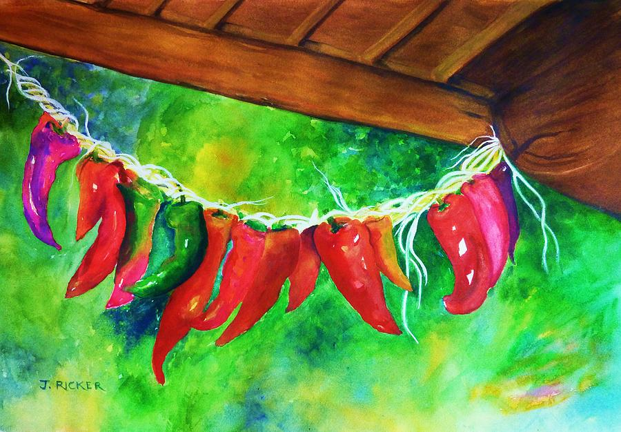 Mexican Jalapeno Peppers Painting
