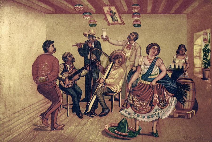 Mexico: Hat Dance Photograph
