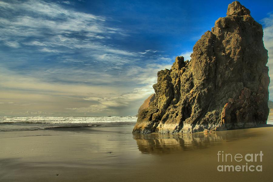 Meyers Creek Photograph - Meyers Beach Stacks by Adam Jewell
