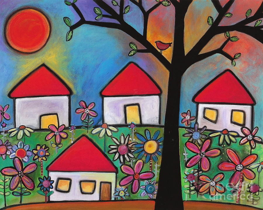 Mi Casa Es Su Casa Painting