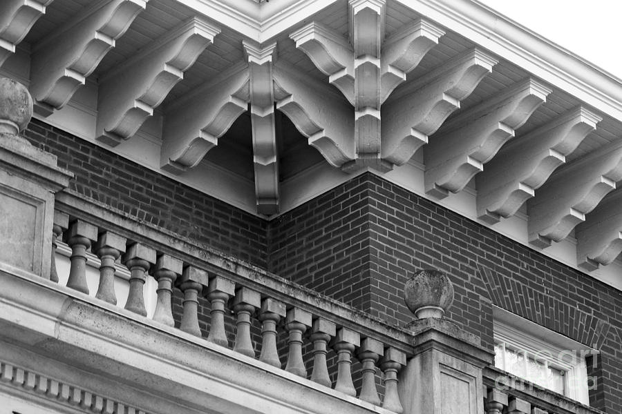Miami University Hall Auditorium Detail Photograph