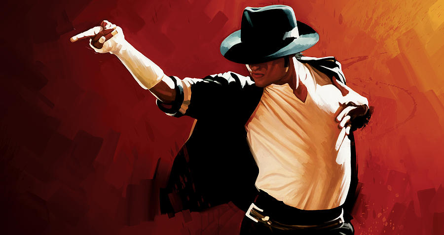 Michael Jackson Paintings Painting - Michael Jackson Artwork 4 by Sheraz A