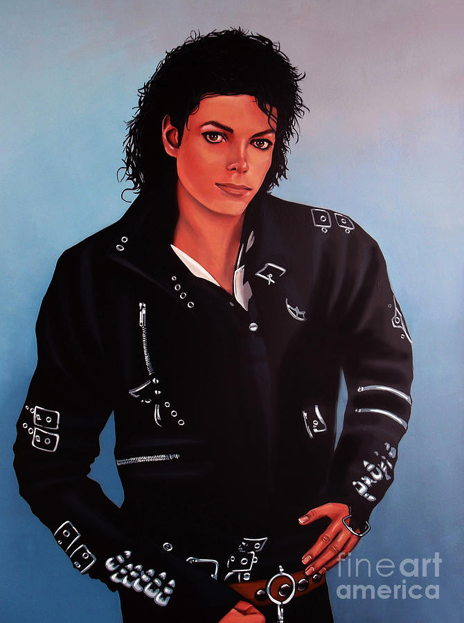 Michael Jackson Bad Painting