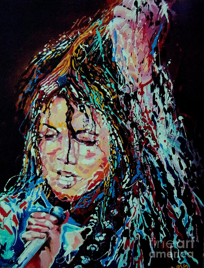 Michael Jackson - Burn It Painting