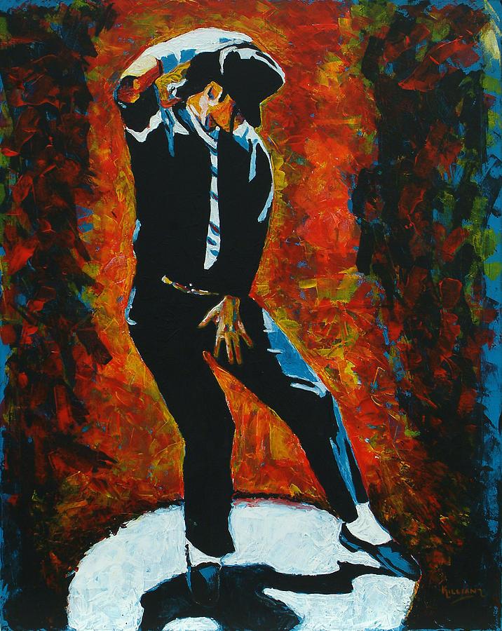 Michael Jackson Painting - Michael Jackson Dancing The Dream by Patrick Killian