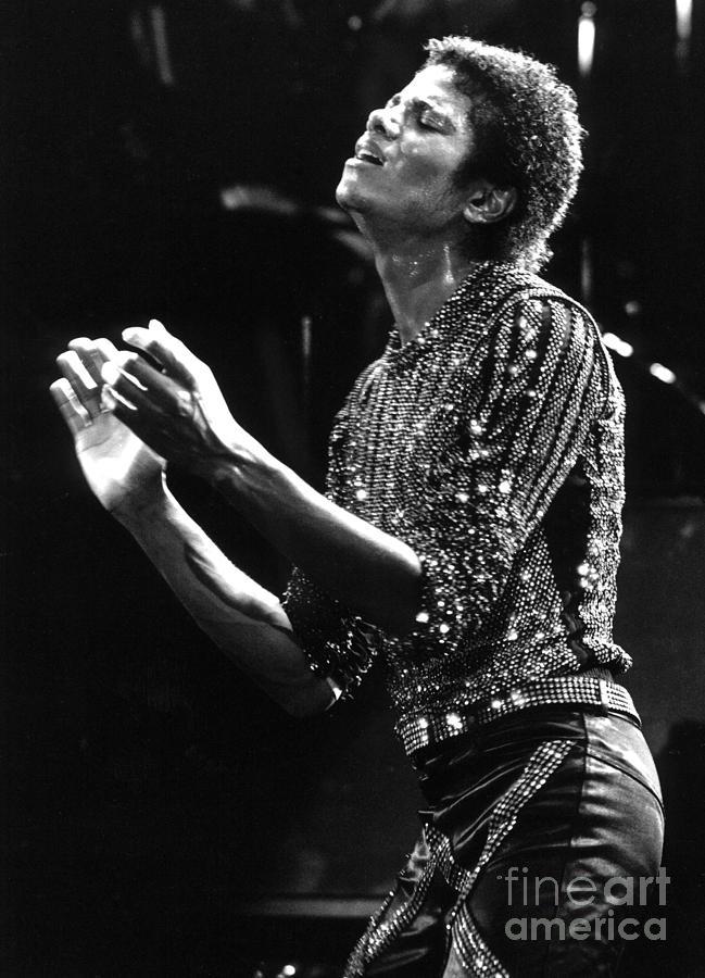 Michael Jackson Live Photograph