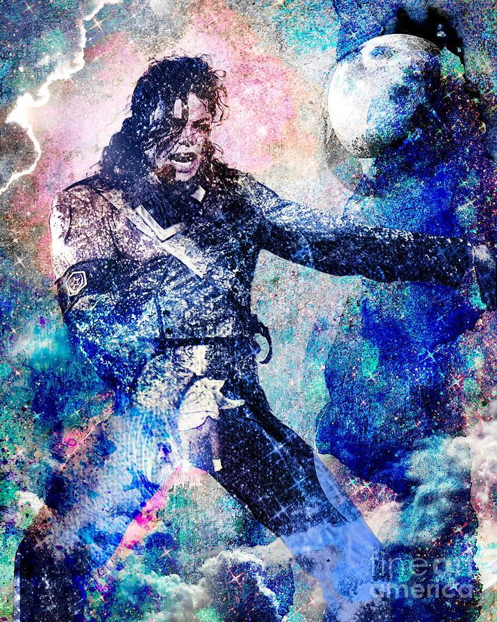 Michael Jackson Original Painting  Painting