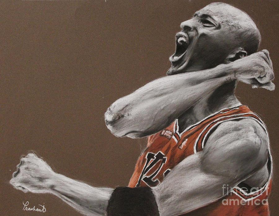 Michael Jordan Painting - Michael Jordan - Chicago Bulls by Prashant Shah
