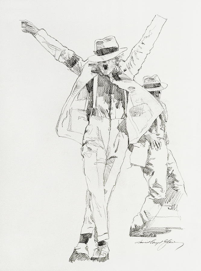 Michael Smooth Criminal Drawing