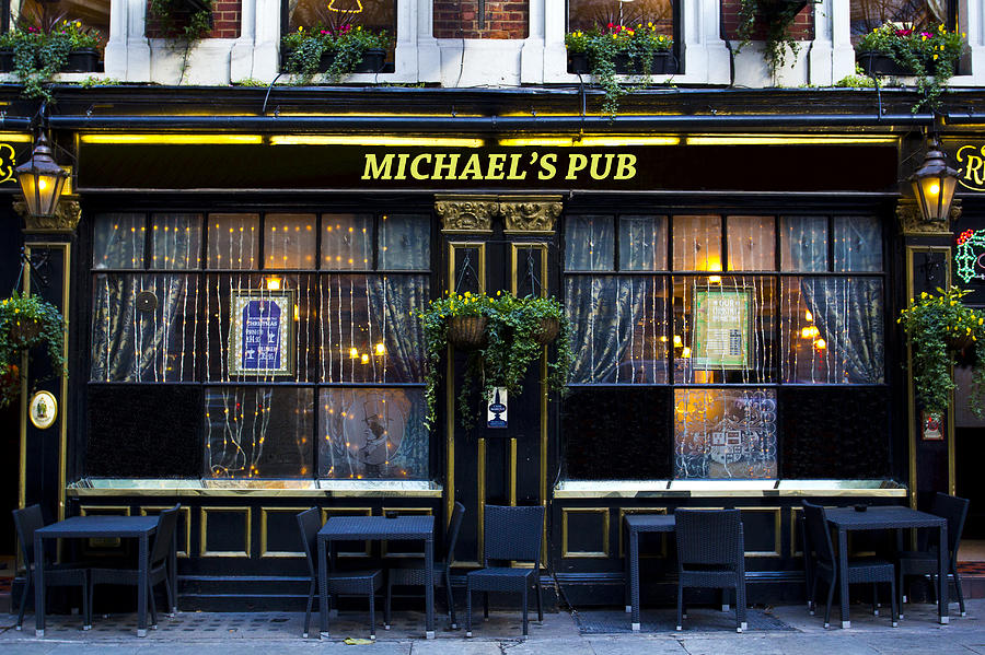 Michael Photograph - Michaelss Pub by David Pyatt