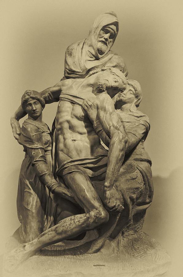 Michelangelos Florence Pieta Photograph