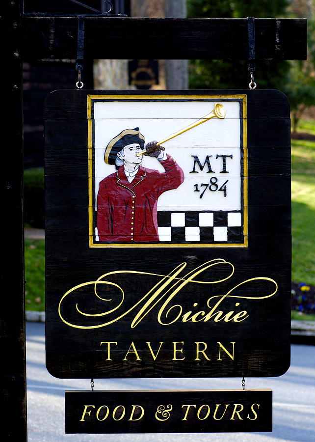 Michie Tavern - The Sign Photograph
