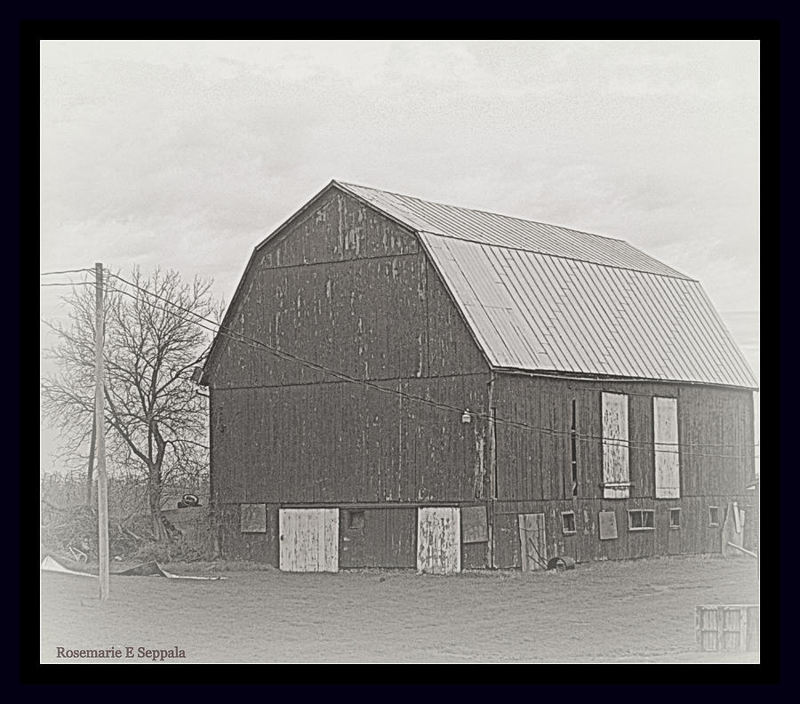 Michigan Old World Barn Renovation Photograph By Rosemarie