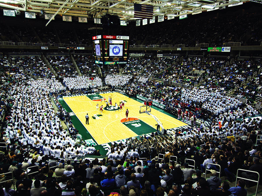 Michigan State Spartans Jack Breslin Student Events Center Photograph  - Michigan State Spartans Jack Breslin Student Events Center Fine Art Print