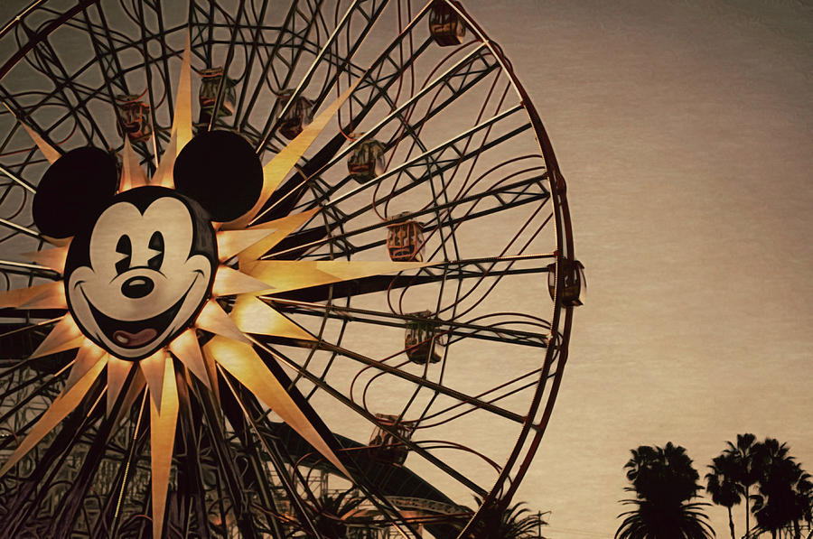Mickey Fun Wheel Photograph