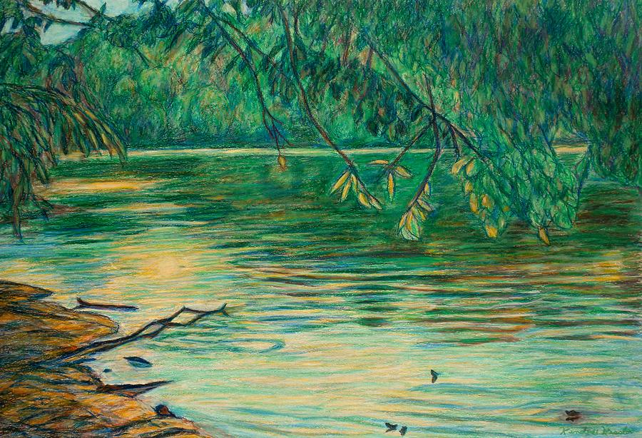 Landscape Painting - Mid-spring On The New River by Kendall Kessler