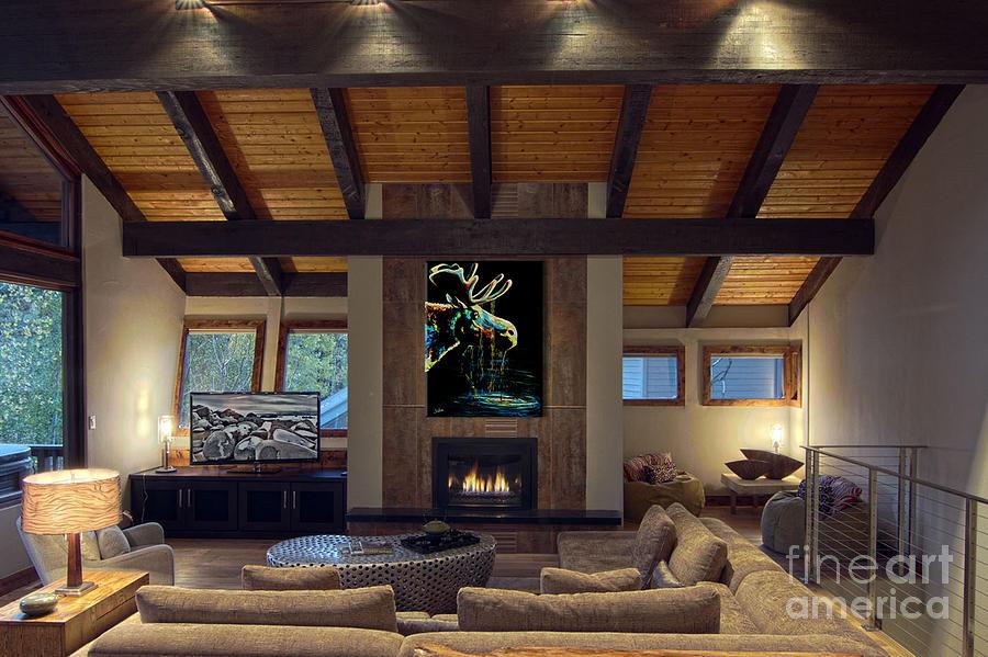 Midnight Moose Drool Showcase Painting
