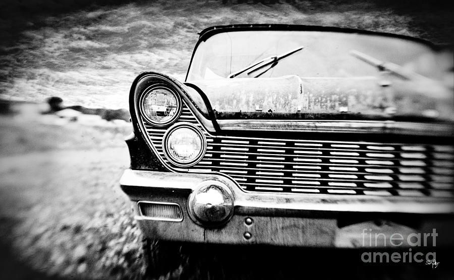 Car Photograph - Midnight Ride by Scott Pellegrin
