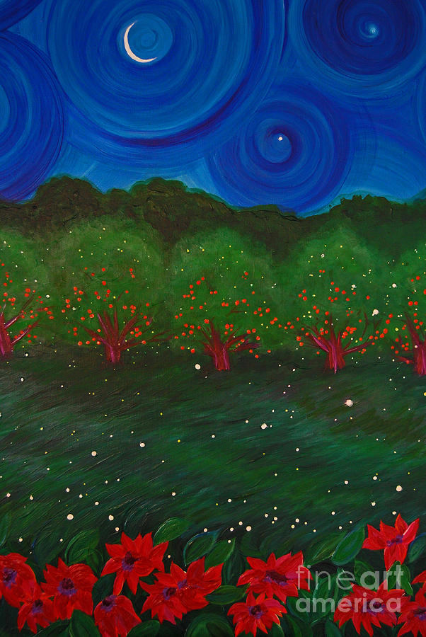 Midsummer Night By Jrr Painting