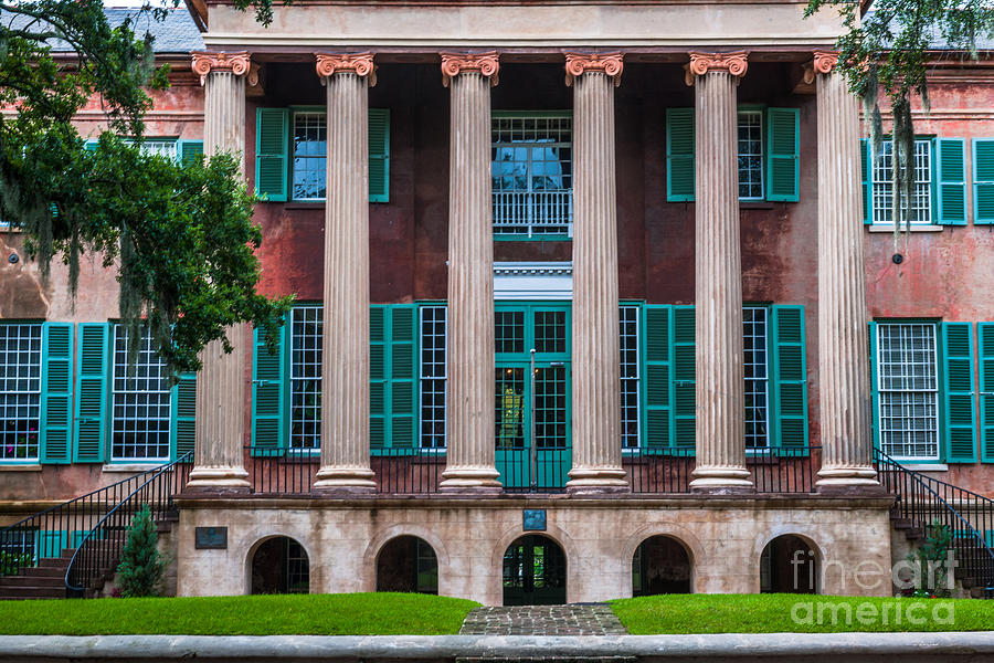 Mighty Columns Photograph
